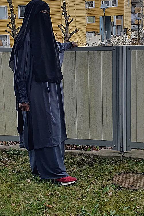 Amira jilbab set med kjol