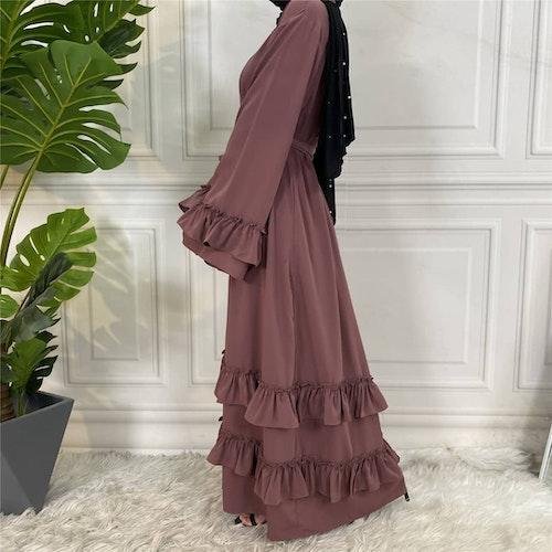 Öppen abaya-Aicha