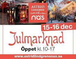 Astrid Lindgrens Näs - en redig & genuin småländsk julmarknad 15-16 december