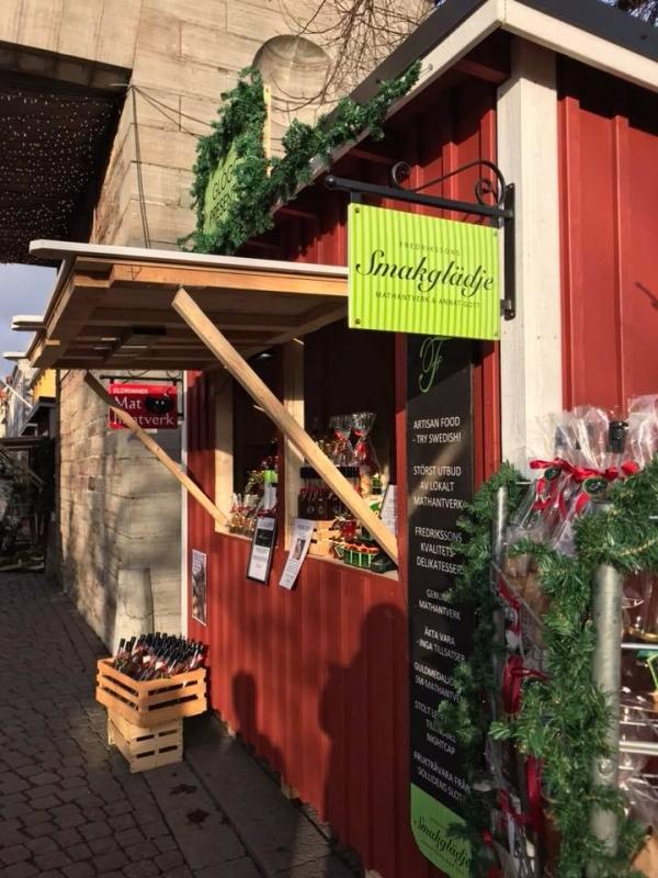 """""""Pop-up"""" Smakglädje-butik för FREDRIKSSONS i Kalmar centrum"""
