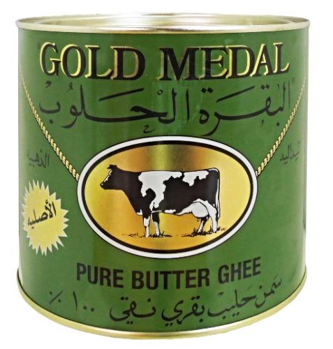 Klarat smör från Gold medal. Det blir inte mörkfärgat vid upphettning och tillåter stekning vid höga temperaturer. Produkt av Holland.
