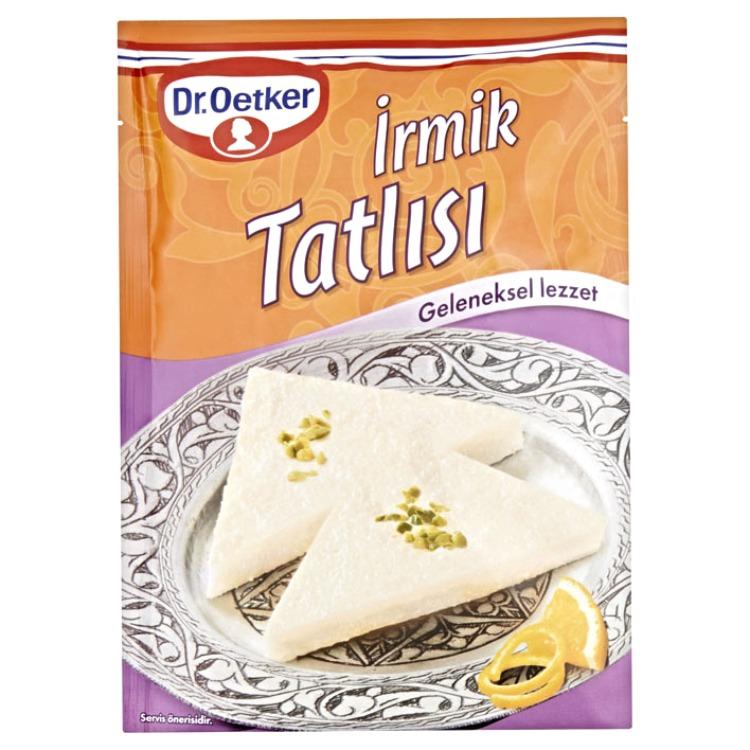 Den turkiska semolina dessert från Dr. Oetker.