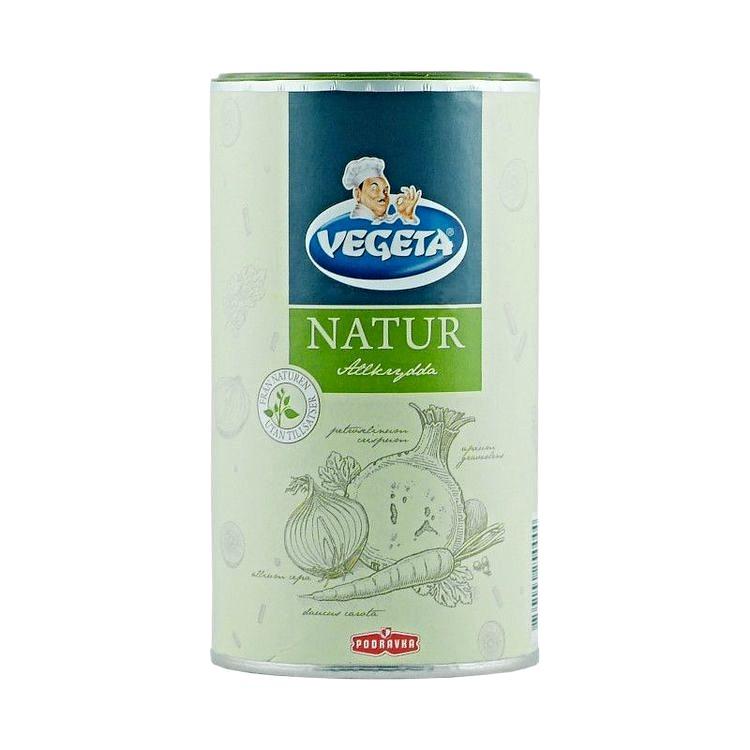 Vegeta allkrydda natur Smaksättaren Vegeta allkrydda natur smakar gott till soppor, grytor och såser. Passar utmärkt till kött, fågel och fisk. Vid tillagning av soppor, stuvningar och såser, tillsätt