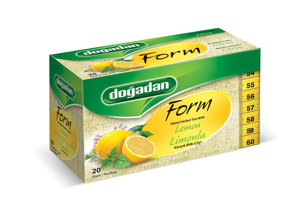 I Form te - Blandat örtte med citronsmak. 20 st goda tepåsar. I form te med Citronsmak. Ett bra alternativ för dig som vill hålla dig i trim.