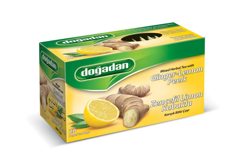 Ingefära & citron te Upptäck örternas välgörande egenskaper med smak av ingefära och citron.