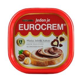 Chokladkräm och hasselnötskräm