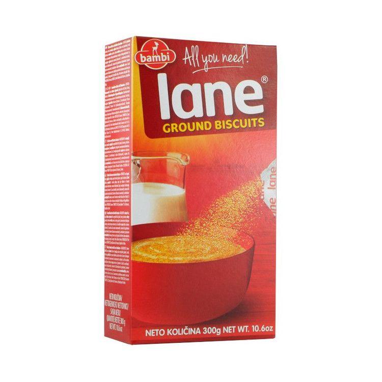 Lane kex pulver 300 g Bambi är en koncern som innefattar flera olika varumärken, varav det mest kända är Lane kex. Produktionen startade redan 1968 och är fortfarande en av deras bästsäljare. De flest