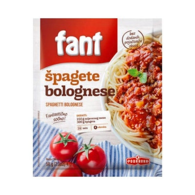 Spagetti bolognese mix 58 g