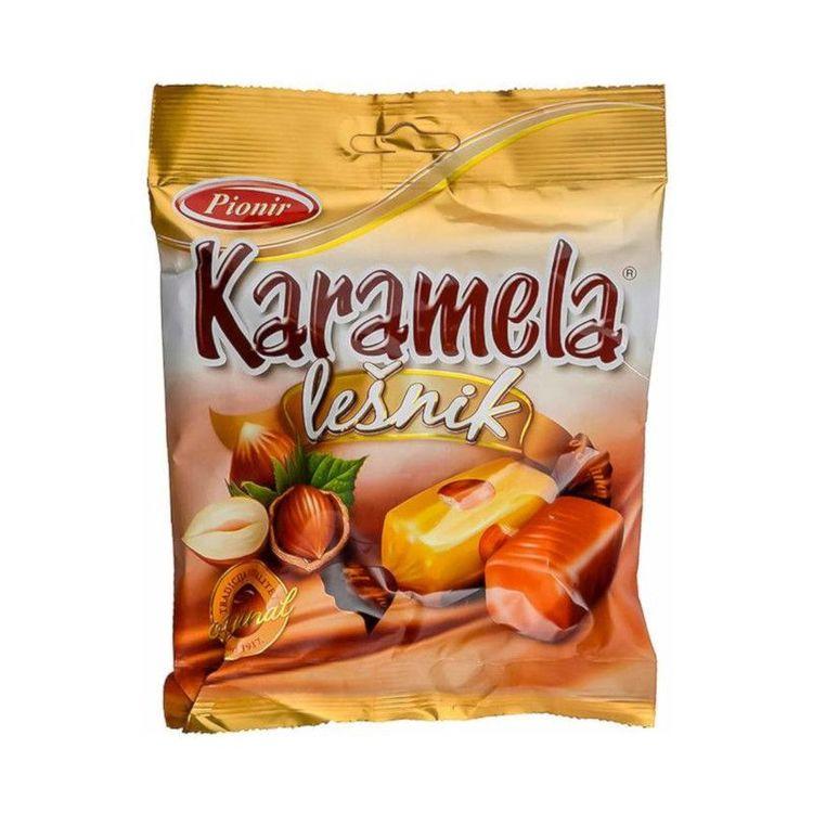 Hasselnötskaramell En given Karamell för dom som älskar hasselnötter, rund god smak med en härlig arom!