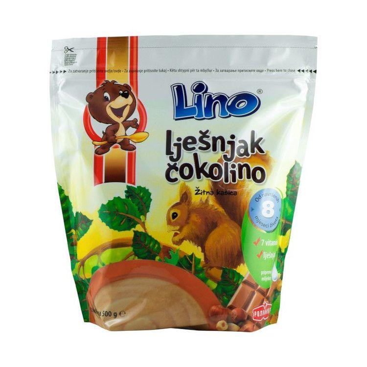 Lino Grötmix choklad-hasselnöt