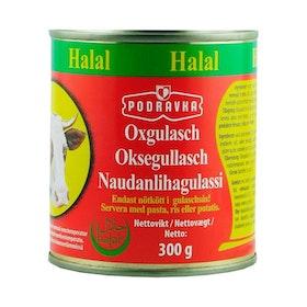 Oxgulasch halal