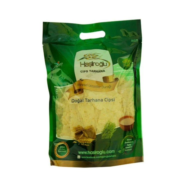 Chips tarhana En unik produkt som är gjord av kokt krossat vete och yoghurt. Mättande och utmärkt för dig som vill gå ner i vikt. Smakar lite som syrligt chips och kan användas som mellanmål eller som