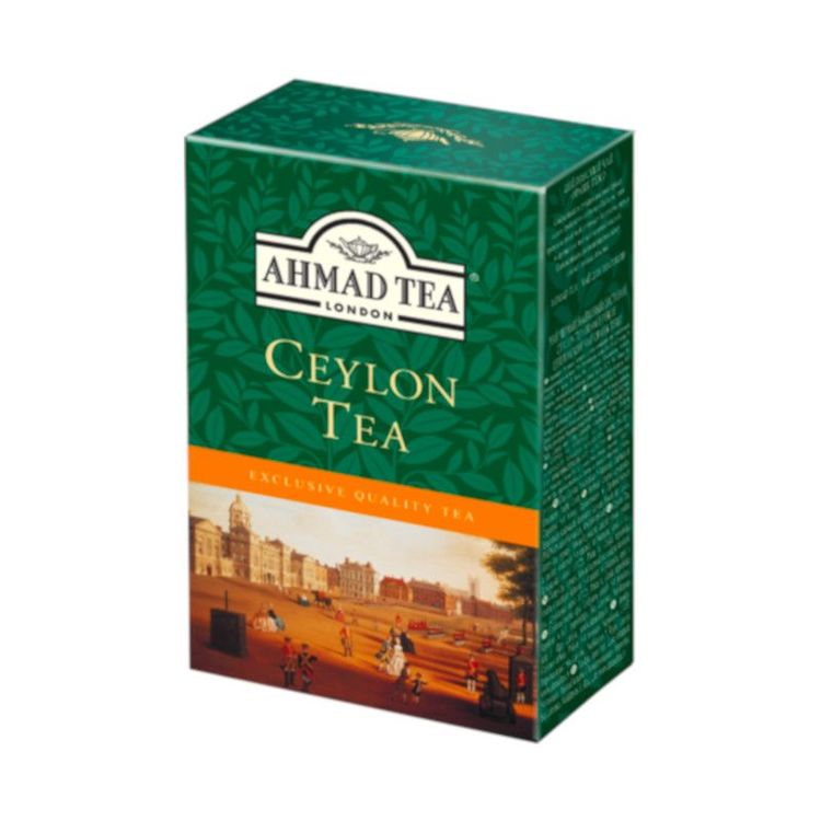 Ahmad Tea ceylon te Sri Lanka beskrivs ofta som ön, juvelen i Indiska oceanen och Ceylons teer är så rika och inbjudande som historia och kulturarv av landet självt. Ahmad tea's Ceylon te är en blandn