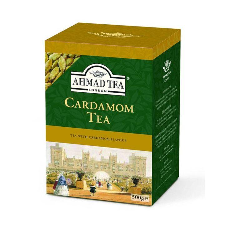 Ahmad Tea svart te med kardemumma smak Ett utsökt val av utvalt svart te expert blandat och förstärkt med den exotiska smaken av kardemumma för att ge en riktigt härlig kopp te.