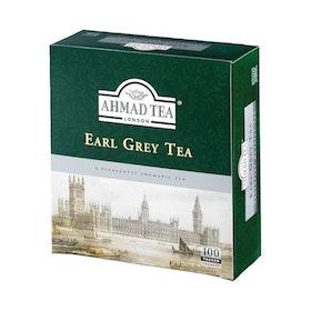 Ahmad Tea Earl Grey Te, 100 tepåsar