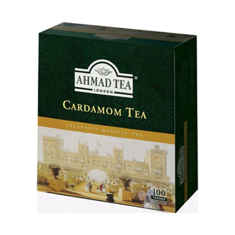 Ahmad Tea Black Tea med kardemumma Kardemumma te är ett utsökt urval av utvalda svarta teer som blandats och förstärktst med en exotisk smak av kardemumma. En värmande och avkopplande upplevelse som k