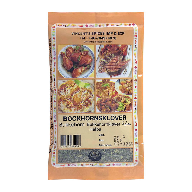 Bockhornsklöver blad 20 g