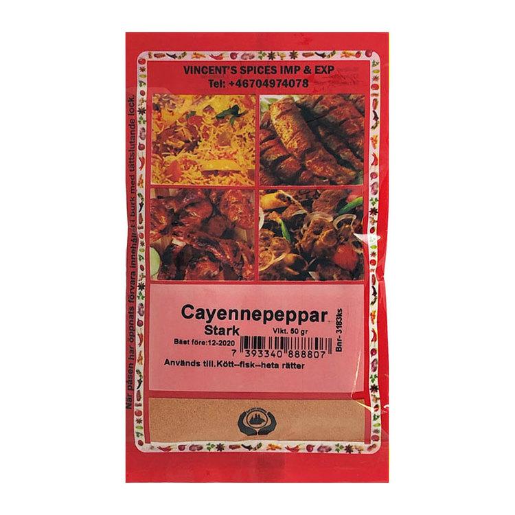 Cayennepeppar 50g