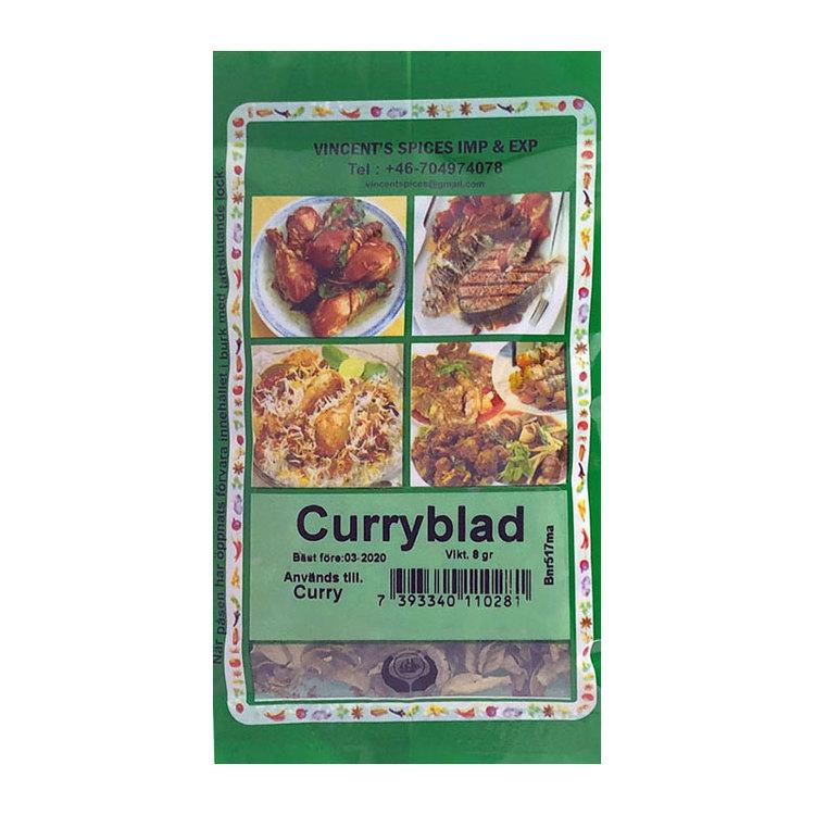Curryblad 8g