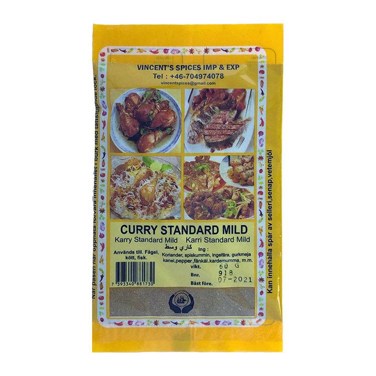 Curry mild 60g