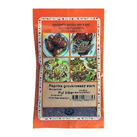Paprika stark grovkrossad - pul biber 50g