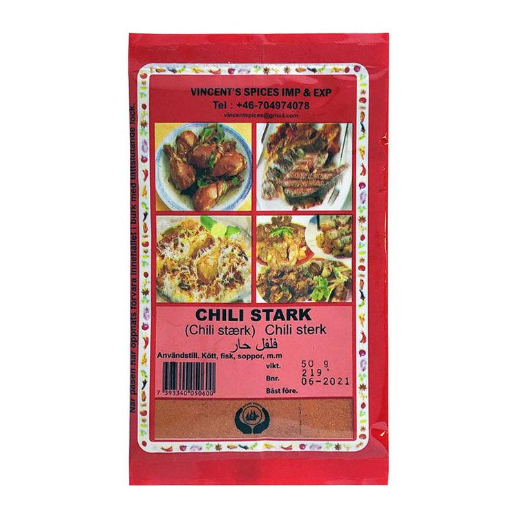 Stark chili mald 50g