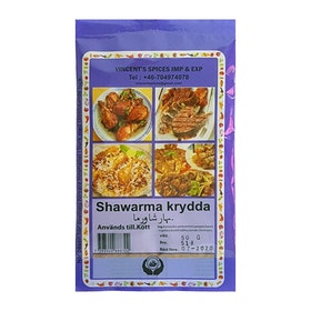 Shawarmakrydda 50g