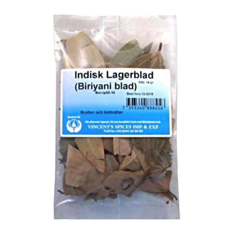Indiskt lagerblad  - Biriyaniblad 14g