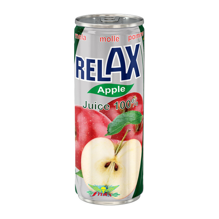 Äppeljuice Fruktinnehåll 100%.