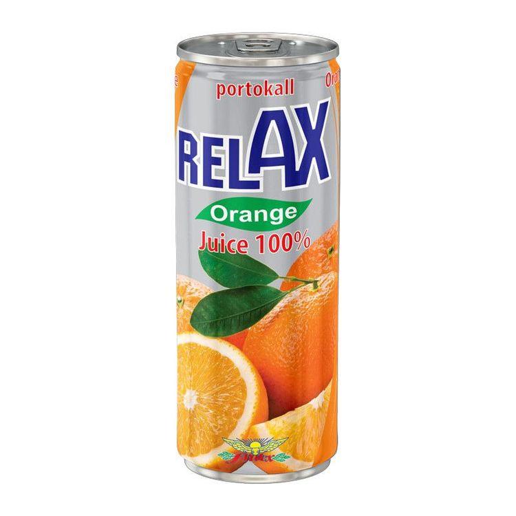 Apelsinjuice Fruktinnehåll 100%.
