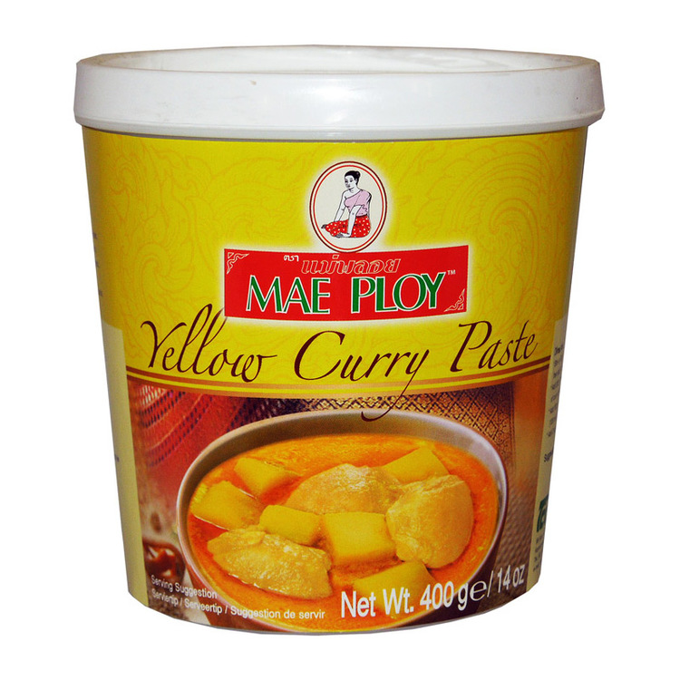 Currypasta gul