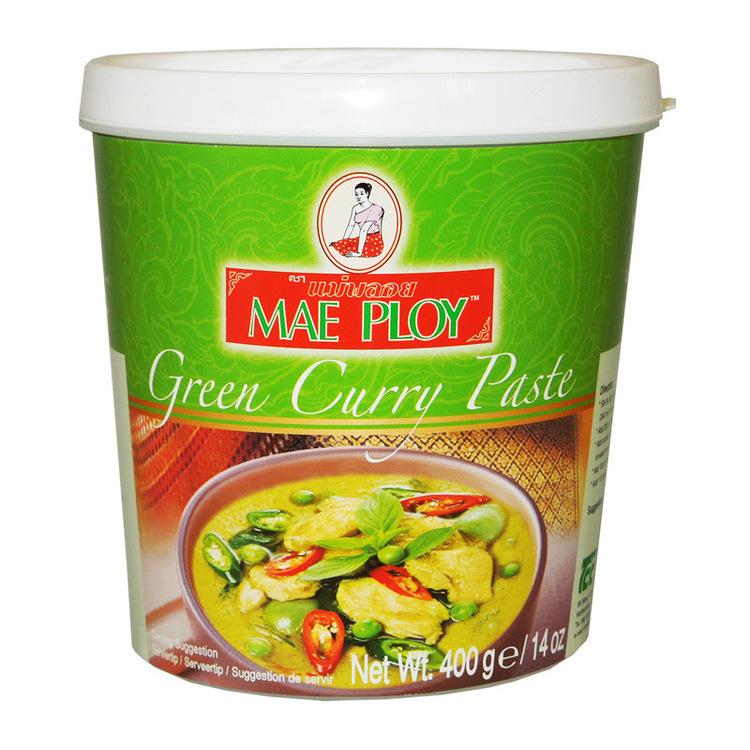 Currypasta grön