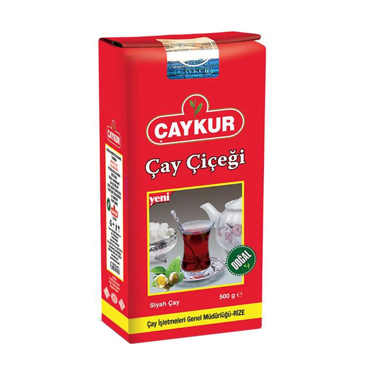 Bladskott te Mild smak, distinkt doft och tydlig färg gör Çay Çiçeği till en speciell typ av te. Tedrickare som letar efter något unikt kommer att älska denna blandning. Detta naturliga te utan tillsa