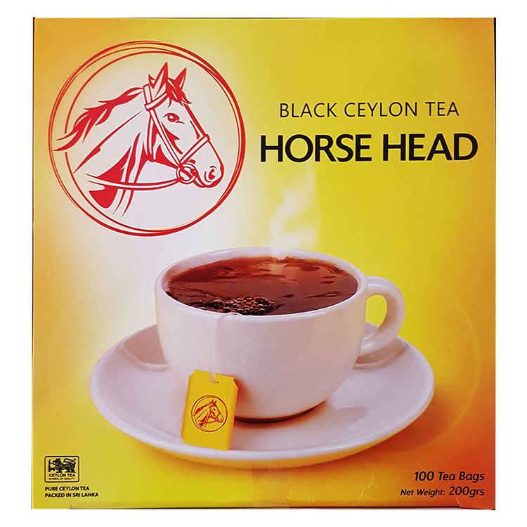 Horse Head ceylonte är särskild utvald för riktiga teälskare. Det är en harmonisk blandning av de finaste tebladen vars renhet har bevarats enligt gamla traditioner. Horse Head har ett kvalitetsengage