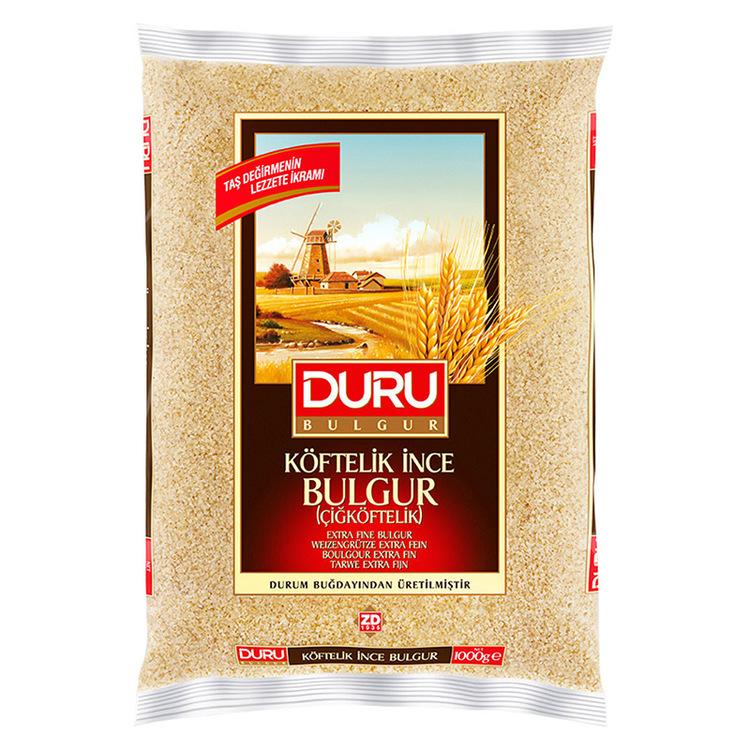 Extra fin Bulgur - cigköftelik: Bulgur är enkelt och smidigt att tillaga och dessutom jättegott! Bulgur serveras som ett varmt tillbehör ungefär som ris, pasta eller couscous. Bulgur liknar couscous m