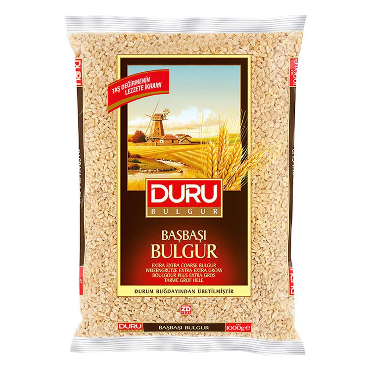 Extra grov bulgur: Bulgur är enkelt och smidigt att tillaga och dessutom jättegott! Bulgur serveras som ett varmt tillbehör ungefär som ris, pasta eller couscous. Bulgur liknar couscous men alla delar