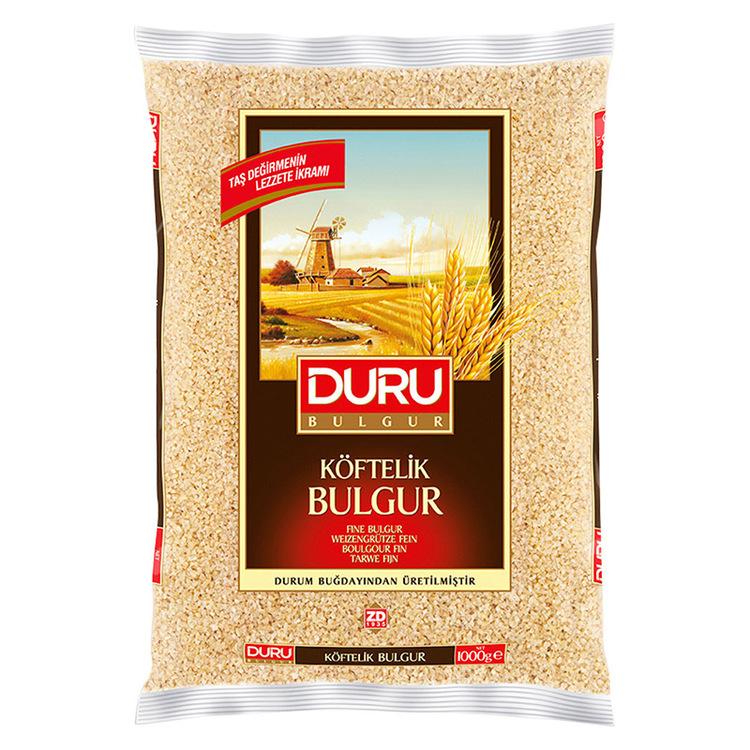 Bulgur fin - kisirlik: Bulgur är enkelt och smidigt att tillaga och dessutom jättegott! Bulgur serveras som ett varmt tillbehör ungefär som ris, pasta eller couscous. Bulgur liknar couscous men alla d