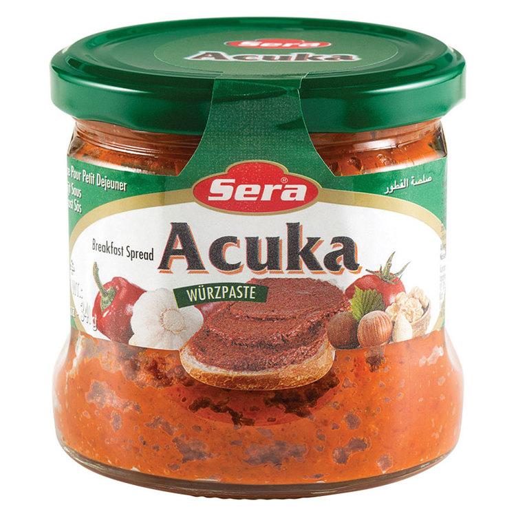 Acuka - Mild Bredbart medelhavspålägg -Acuka är en klassisk rätt som det finns många olika varianter av i Mellanöstern och länderna runt Medelhavet. Just dessa med namnet Sera har turkiskt ursprung. O