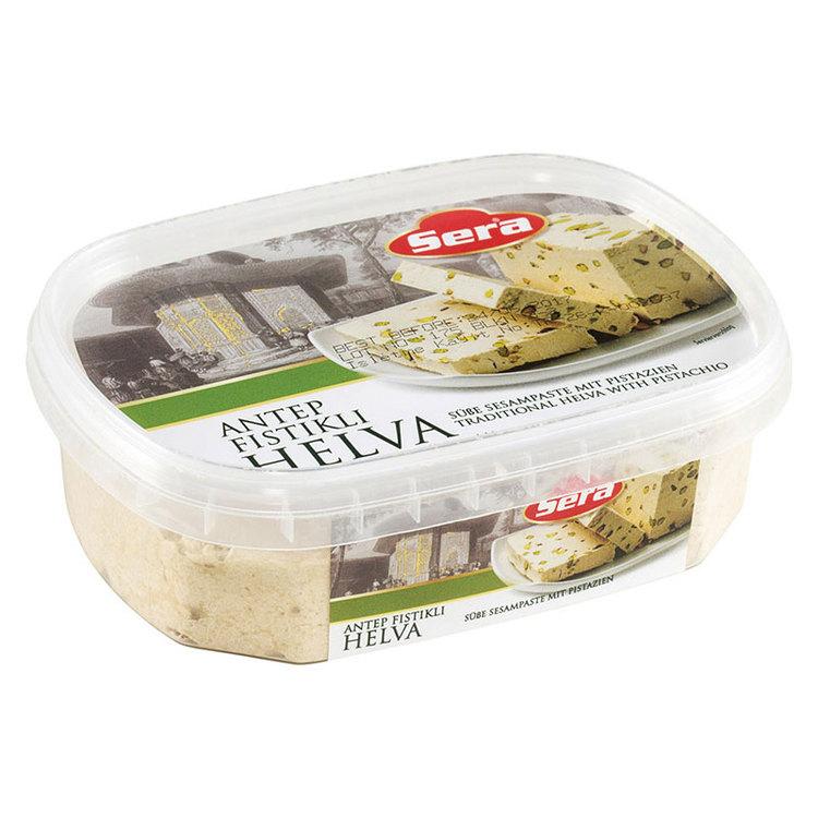 Halva - söt sesampasta med pistagenötter 350g