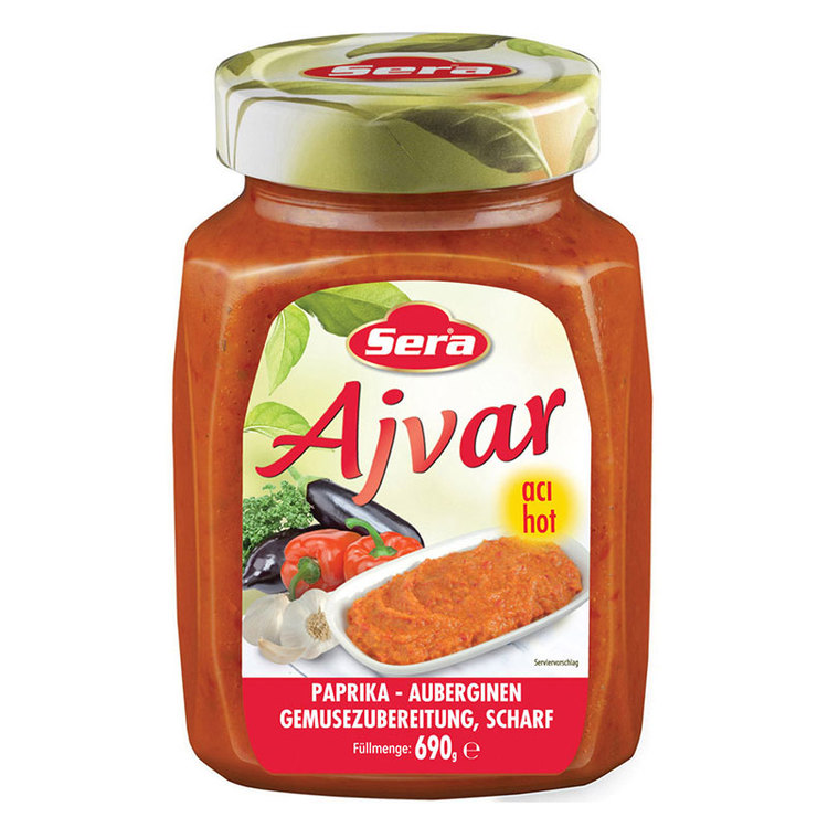 Ajvar är en kryddstark röra eller sås som traditionellt görs på paprika, matolja och salt och kan även innehålla t.ex. vitlök, chilipeppar och andra kryddor för smaksättning. Traditionellt används Ajv