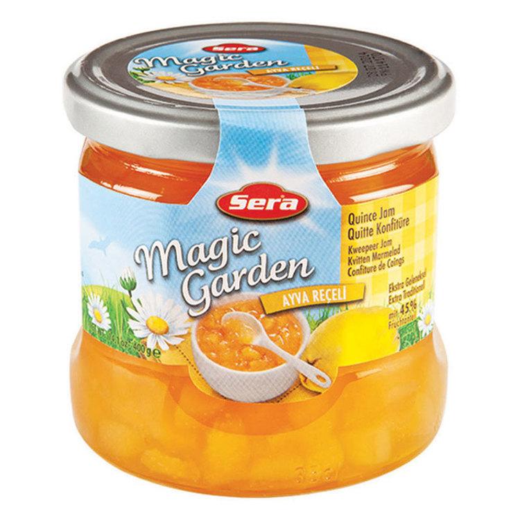 Njut av kvittenmarmeladen på din smörgås eller pannkaka. Tillverkad av Turkiets mest kända varumärke; Sera. Produkt av Turkiet.