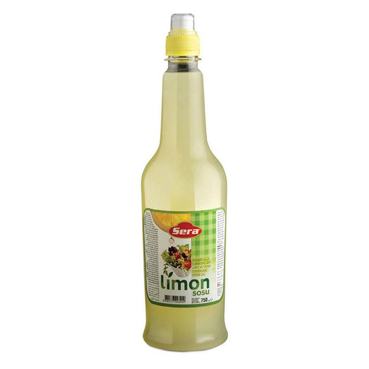Ingridienser: Vatten, surhetsreglerande medel (E330), citron emulsion [vatten, stabiliseringsmedel (akaciagummi E414), syntetisk citronarom, surhetsreglerande medel (citronsyra E330, askorbinsyra E300