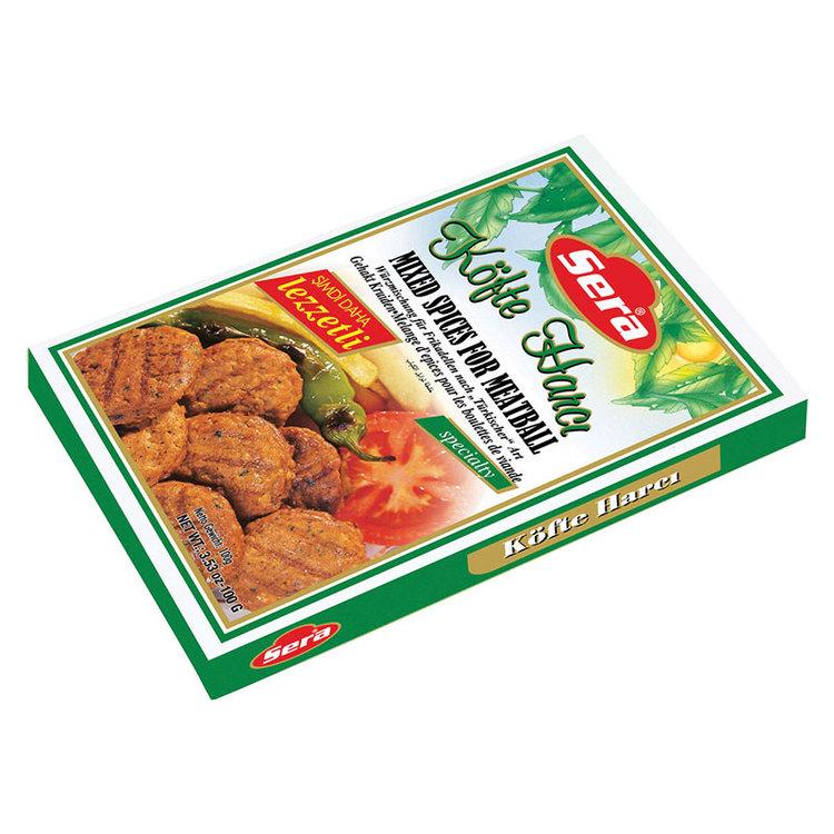 Blandade kryddor till turkiska köttbullar. De godaste köttbullar...
