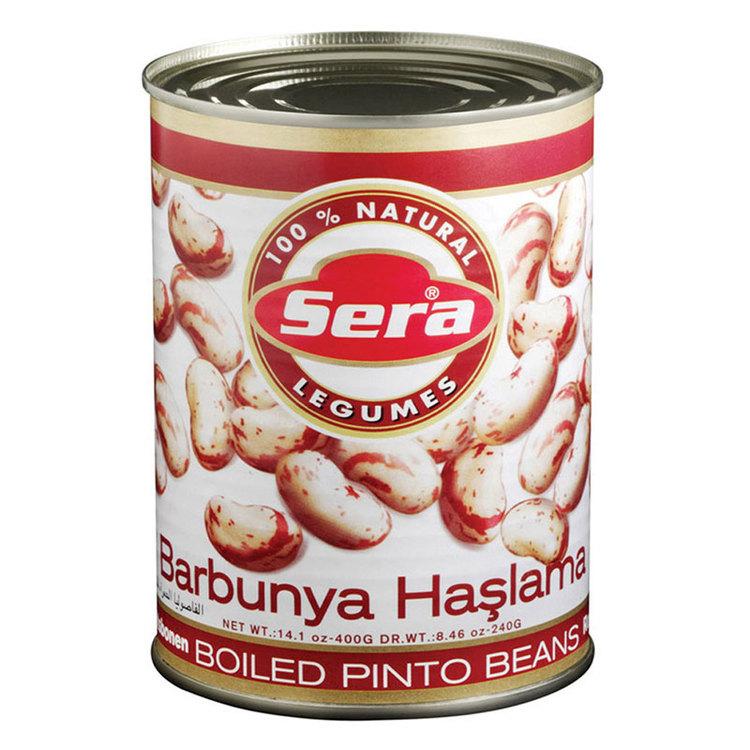 Konserverade pintobönor. Färdigkokade så är de också världens bästa snabbmat, goda att ha i sallad, soppor & grytor. Produkt från Turkiet.
