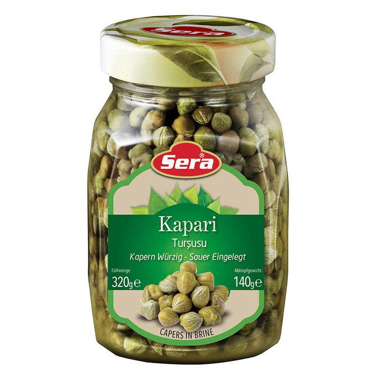 Kapris från Sera. Produkt av Turkiet.
