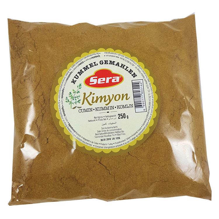 Spiskummin från Sera. Produkt av Turkiet.
