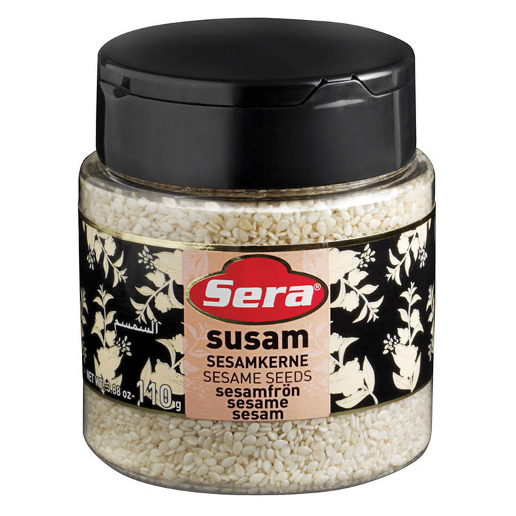 Sesamfrön från Sera. Produkt av Turkiet.
