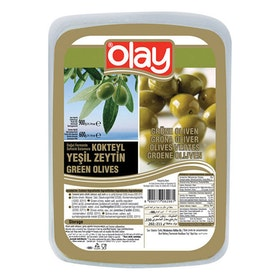 Gröna oliver Olay vakuumförpackad 600g