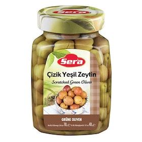 Gröna oliver snittade 700g