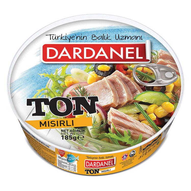 Tonfisk med majssallad